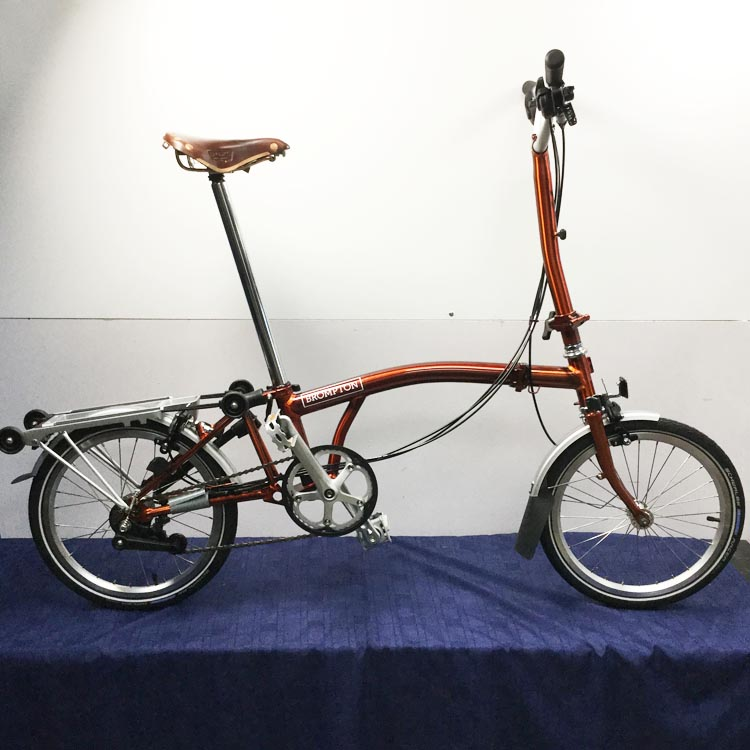 8670046e3 Brompton Folding Bicycle H6R Flame Lacquer